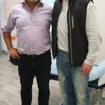 Mr Chan Jeer, Consultant Orthopaedic Surgeon with England Cricketer Darren Stevens
