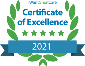 IWGC Certificate of Excellence awarded to Mr Jain for 2021