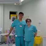 Mr Jai Relwani, Consultant Orthopaedic Surgeon and Lisa DeBono, Theatre Manager at One Ashford Hospital