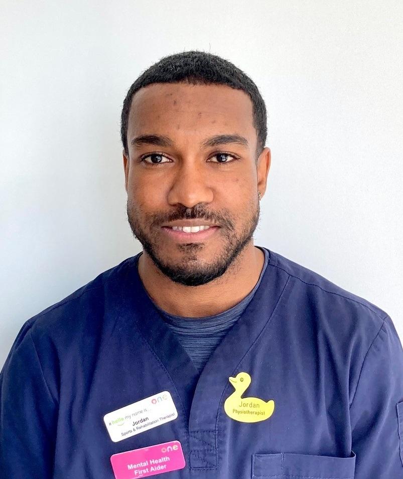 Jordan Yearwood, Physiotherapist
