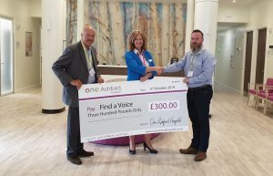 One Ashford Hospital sponsors Find a Voice