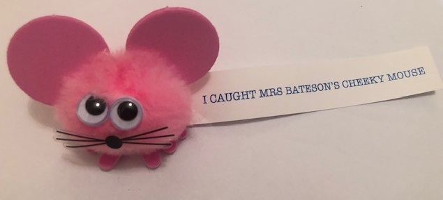 Mrs Bateson's cheeky Mouse