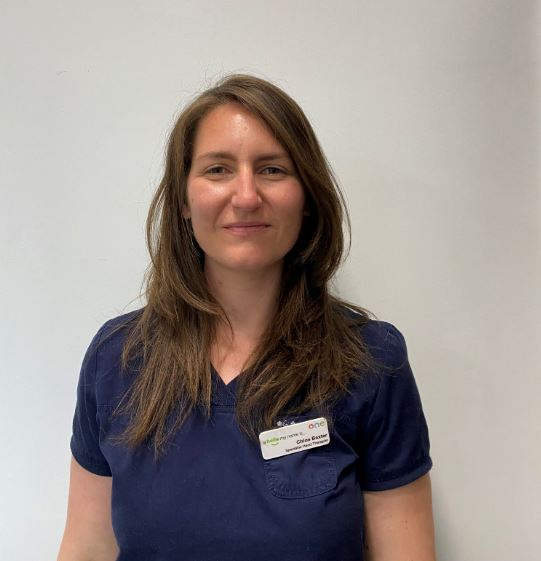 Chloe Baxter, Specialist Hand Physiotherapist at One Ashford Hospital in Kent