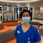 Cecille Pelagio, Outpatients Department