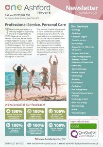 One Ashford Summer Newsletter 2021